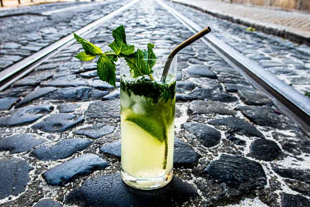 Classic Mojito on Lisbon Street
