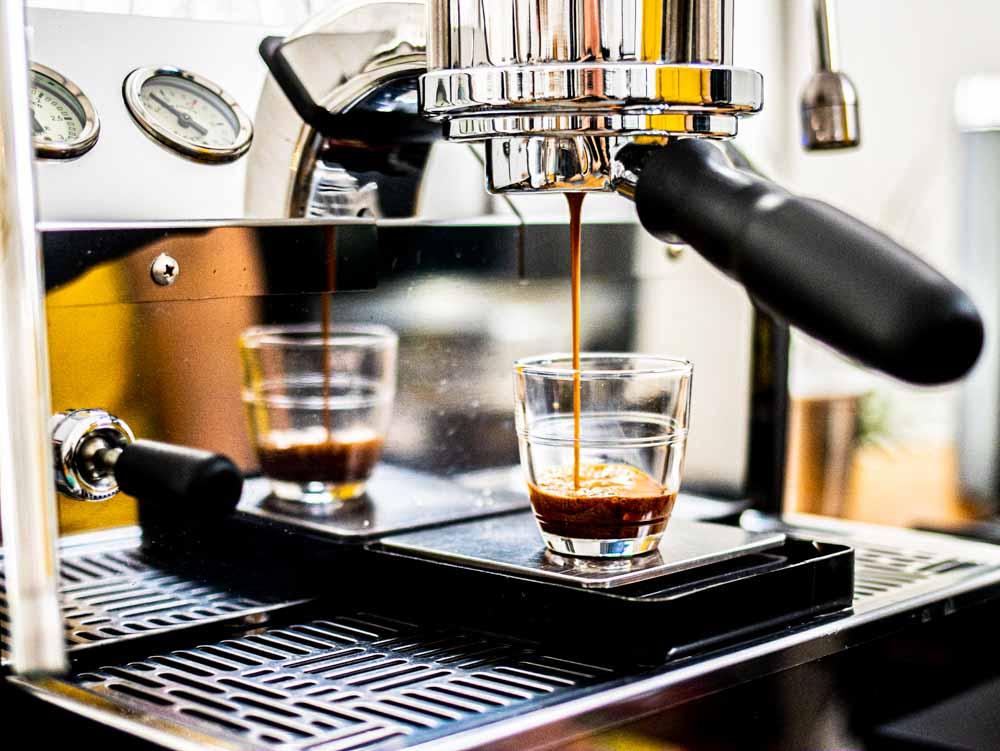 Espresso at Olisipo Coffee Roasters in Lisbon