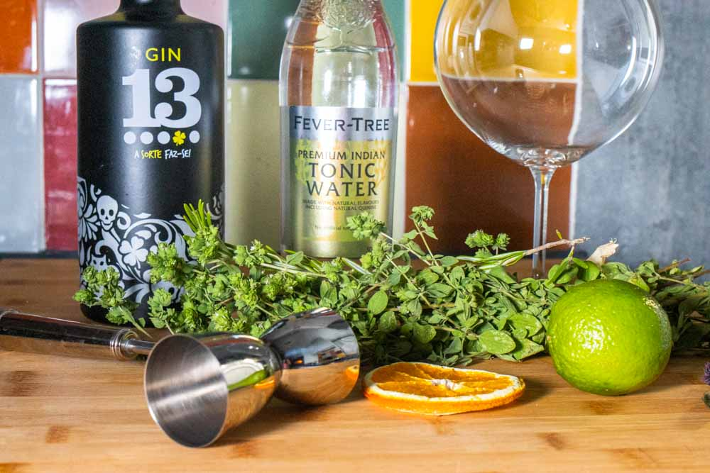 Gin and Tonic Recipe with Portuguese Gin
