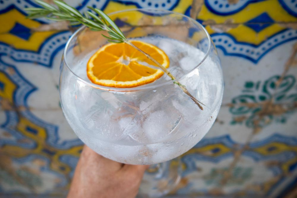 Gin and Tonic by Blue and Yellow Tiles