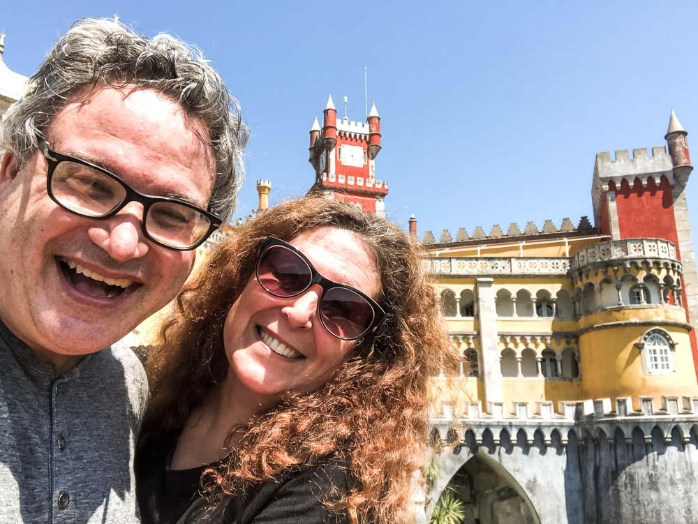 Pena Palace Selfie in Sintra