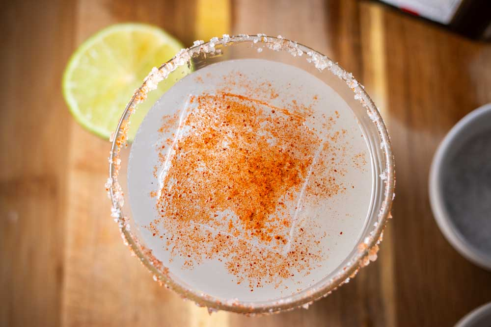 Spicy Margarita Birdseye View