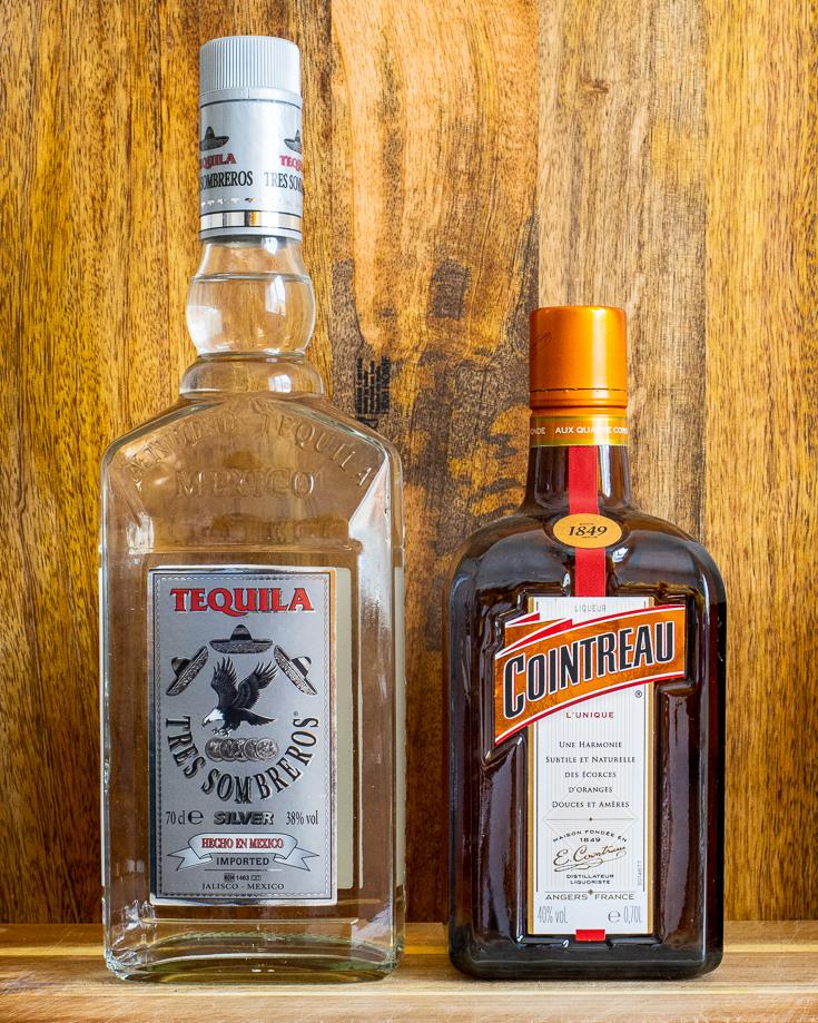 Spicy Margarita Liquor Bottles