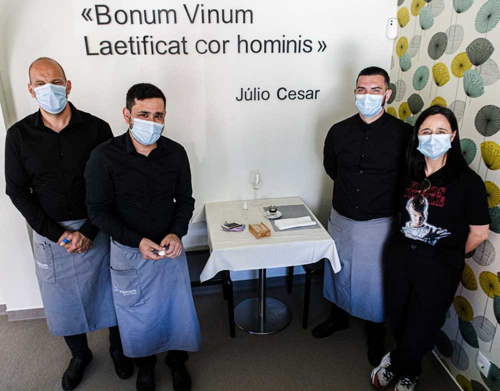 Staff at Incomum in Sintra