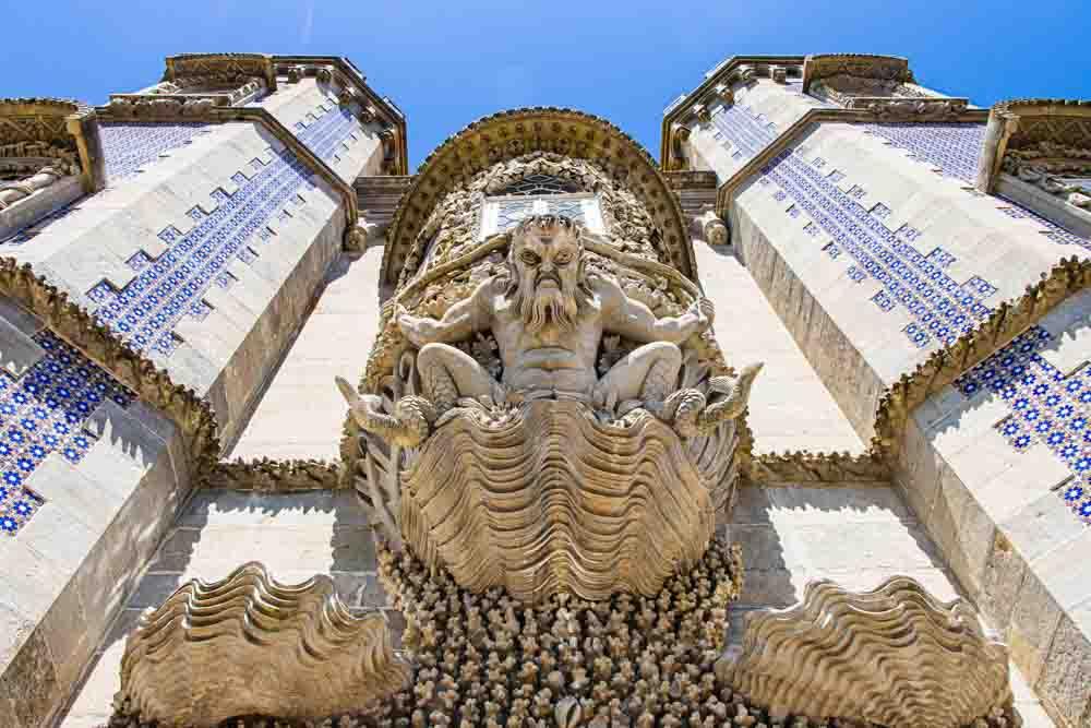 Statue at Pena Palace