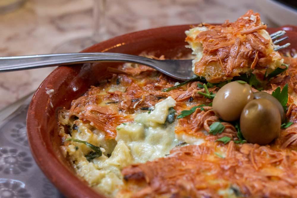 Bacalhau a Bras Cod Fish Dish in Portugal