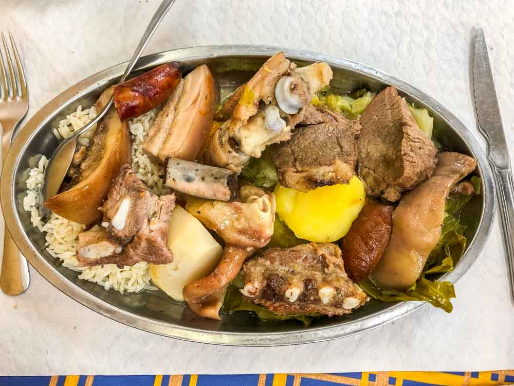 Cozido Meat Stew in Portugal