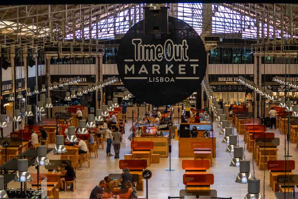 Ground Floor of the Time Out Market Lisbon
