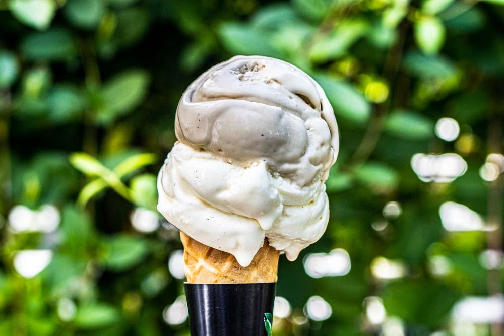 Ice Cream Cone at Alba Gelato in Sintra