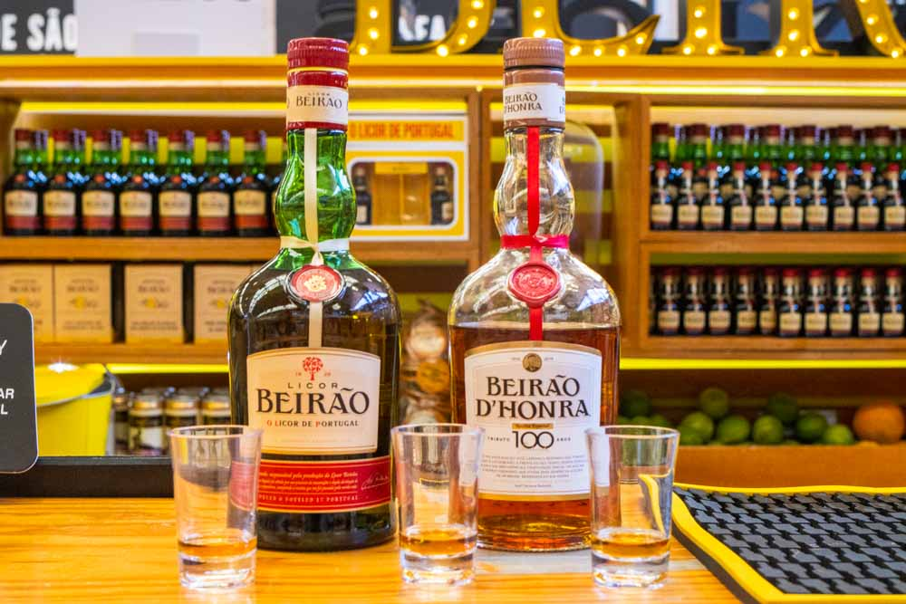 Licor Beirao at Time Out Market Lisbon