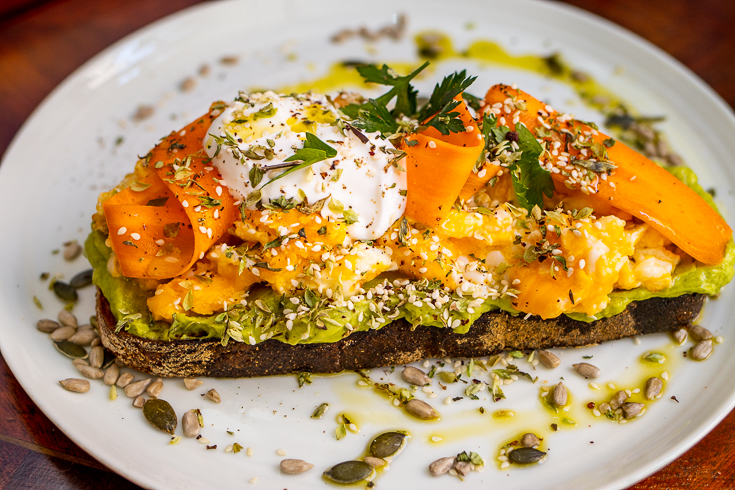 Avocado Egg Toast at Augusto Lisboa in Lisbon