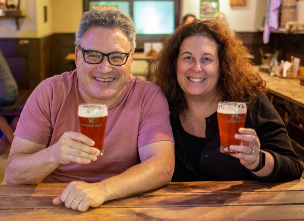 Beer Lovers at Snekutis in Vilnius