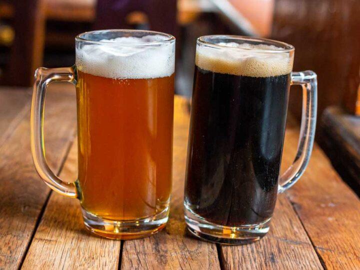 Beers at Busi Trecias in Vilnius