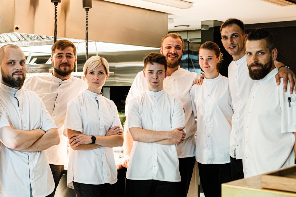 Chefs at Nineteen 18 in Vilnius
