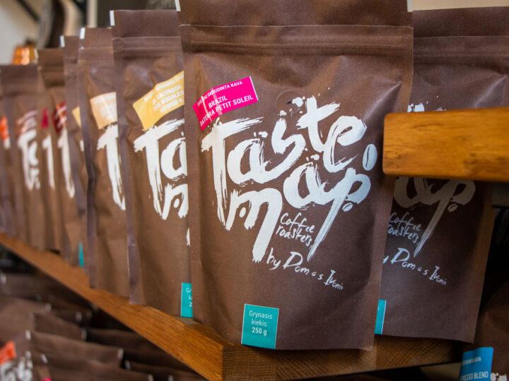 Coffee Bags at Taste Map in Vilnius