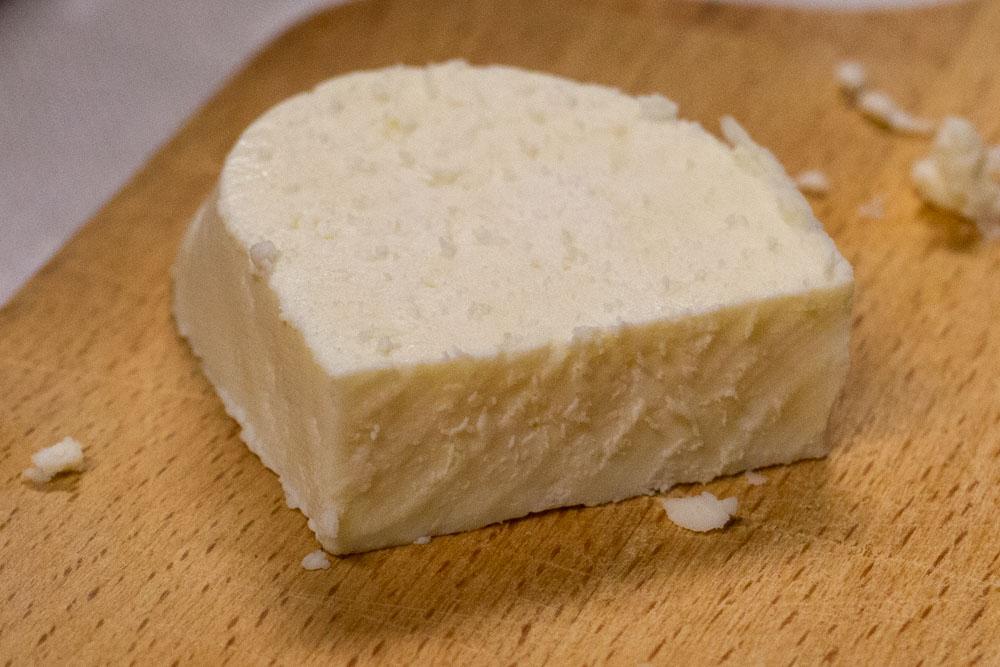 Fresh Cheese at Senamiescio Krautuve in Vilnius