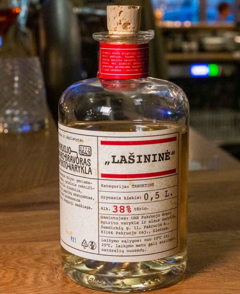 Liqueur at Queensberry in Vilnius