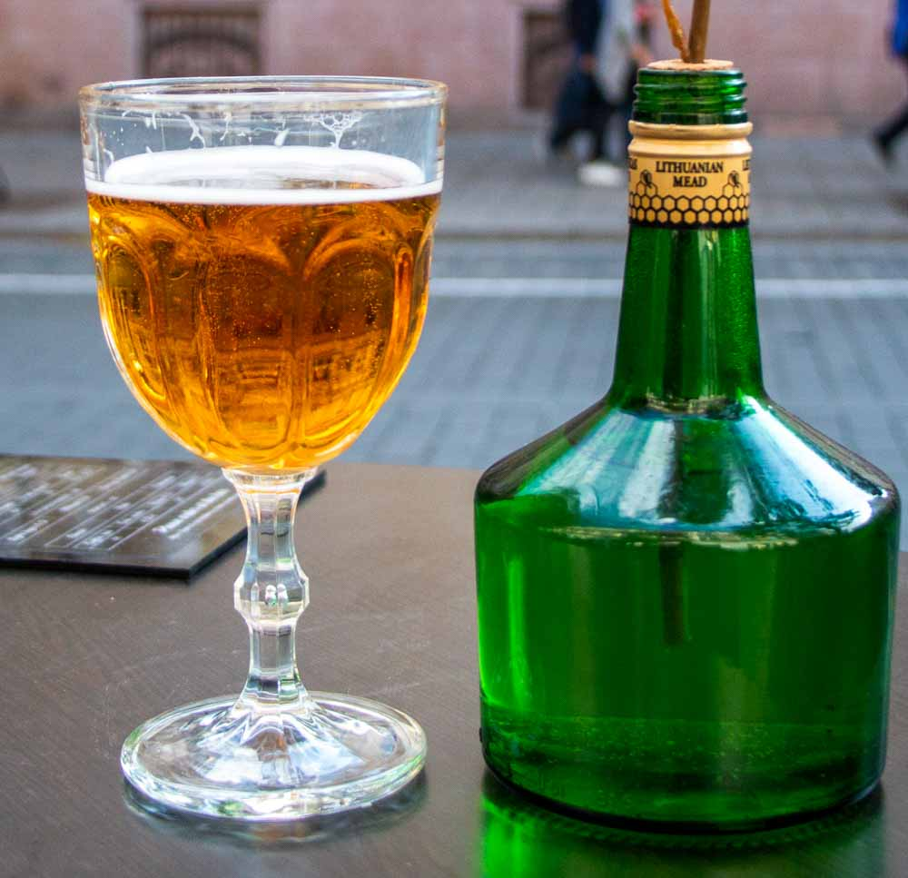Mead at Girta Bite in Vilnius
