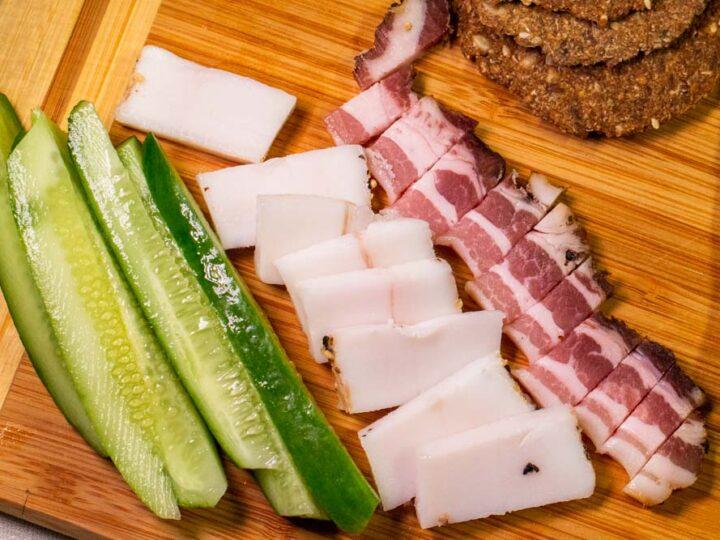 Meat and Pickles at Senamiescio Krautuve in Vilnius