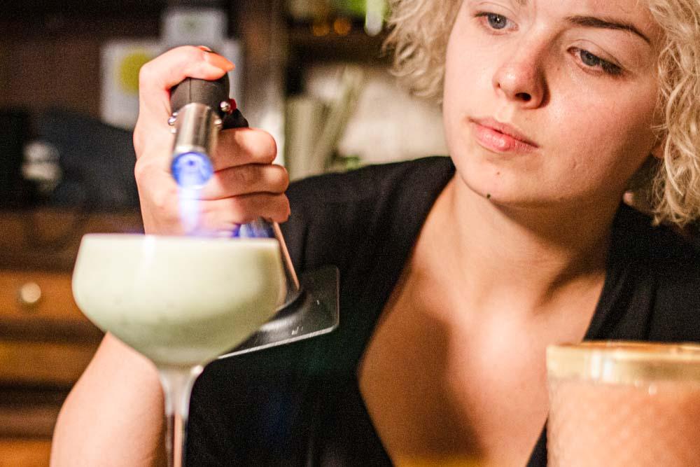 Mixology at Nomads Cocktail Bar in Vilnius
