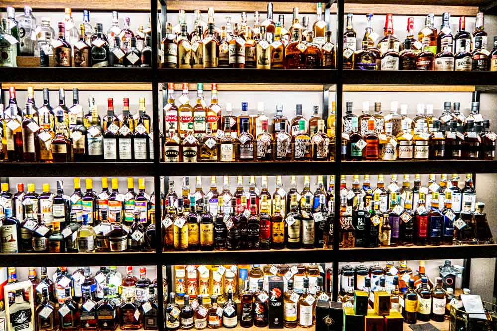 The Whisky Shop and Bar by Duokle Angelams in Vilnius