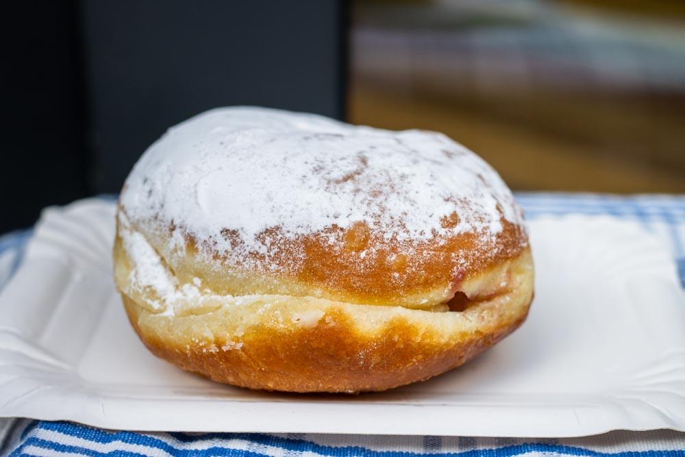 Berliner Donut at Hofpfisterei in Berlin