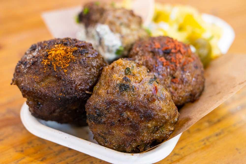 Meatballs at Berlin Beef Balls in Berlin