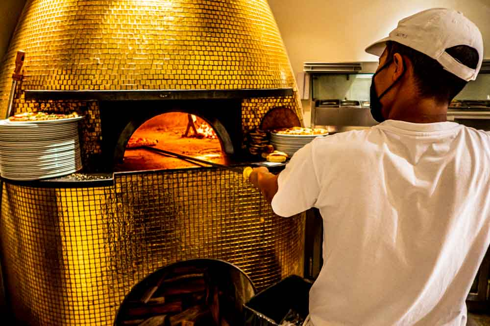 Pizza Oven at Forno d_Oro in Lisbon