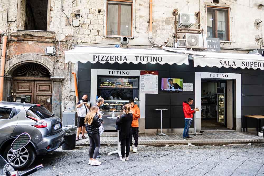 Pizzeria Tutino in Naples
