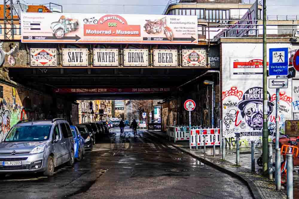 Save Water Drink Beer in Berlin