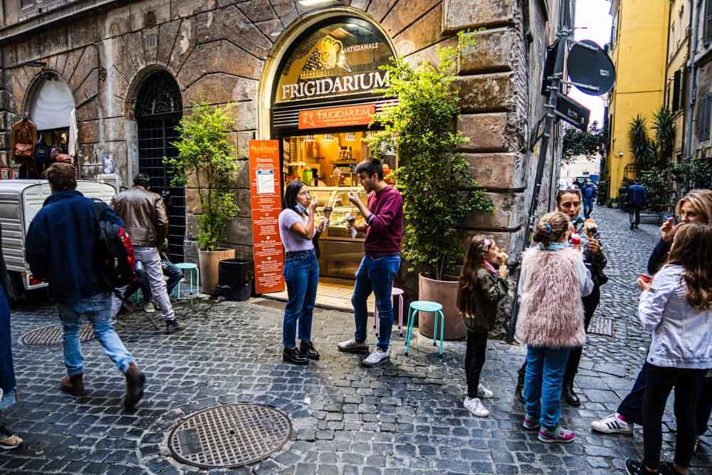 Frigidarium in Rome