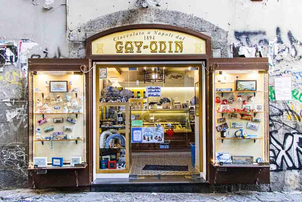 Gay Odin in Naples Italy