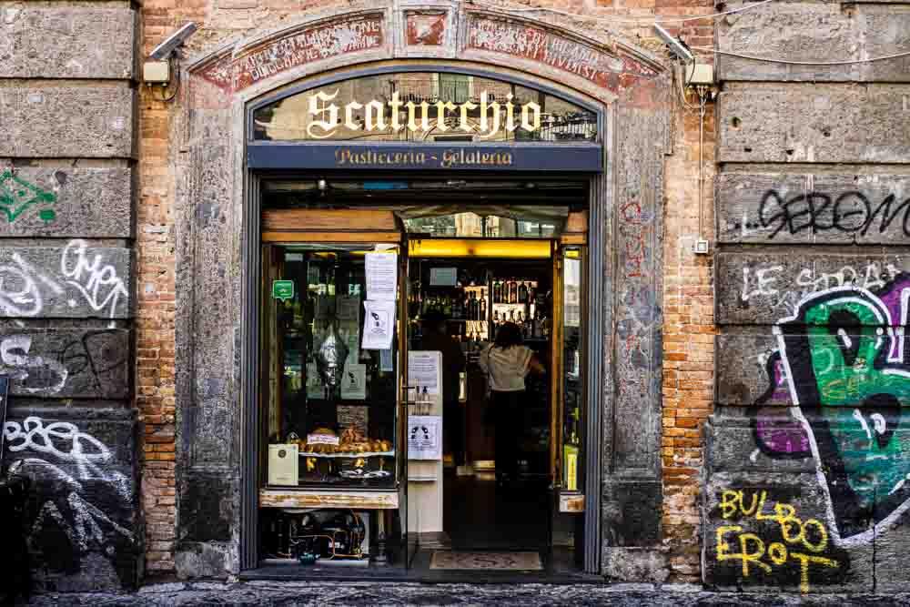 Scaturchio in Naples Italy