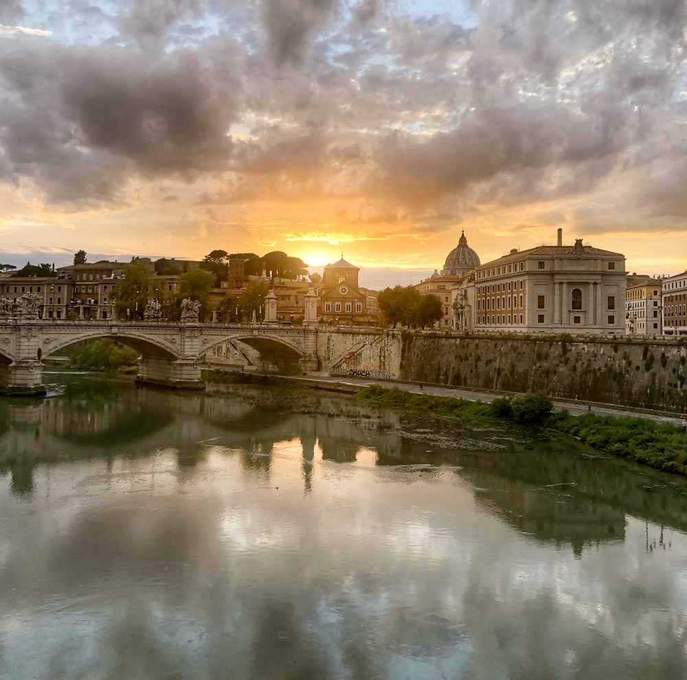 View of Vatican City in Rome