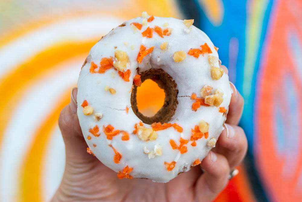 Baked Carrot Cake Donut at The Salty Donut in Miami