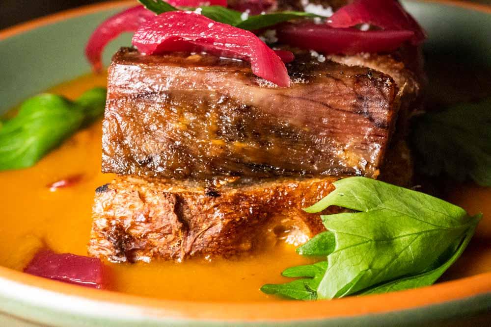Beef Tongue at Mito in Porto