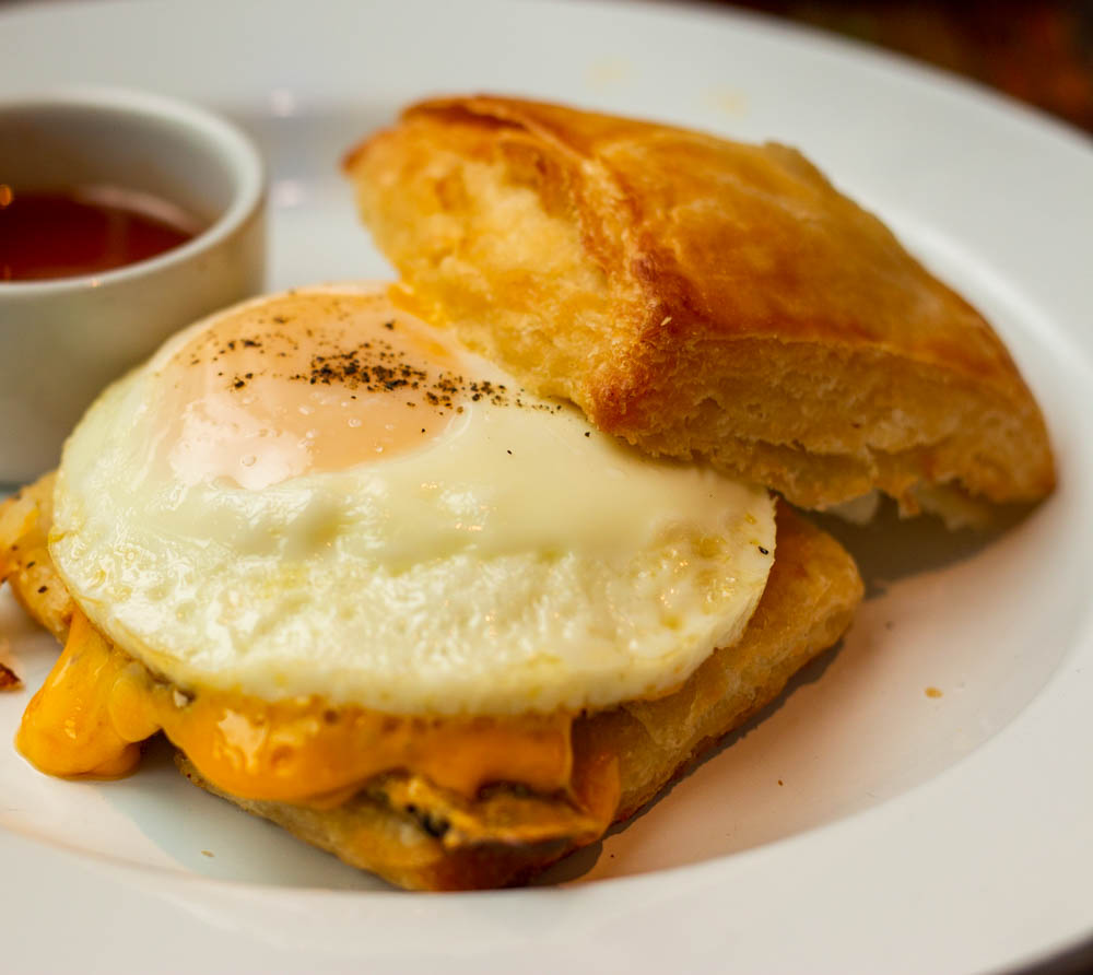 Biscuit Sandwich at Willa Jean in New Orleans