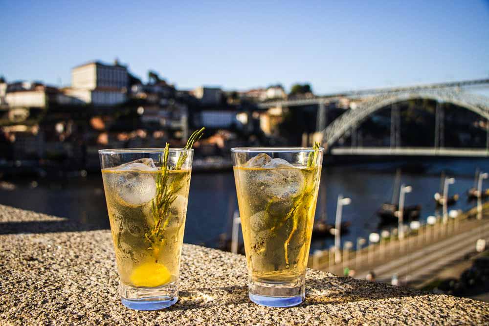 Cocktails at Espaco Porto Cruz in Porto