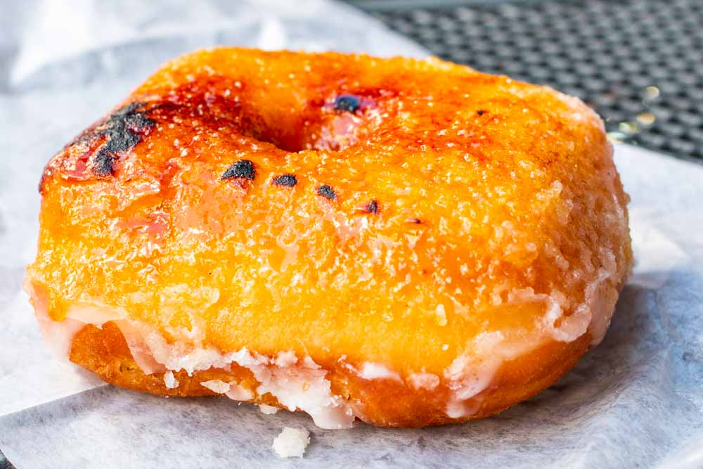 Creme Brulee Donut at Astro Donuts and Chicken in Washington DC
