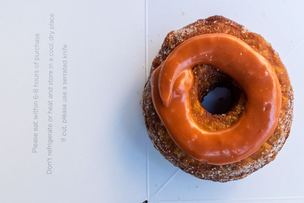Cronut at Dominique Ansel Bakery in New York