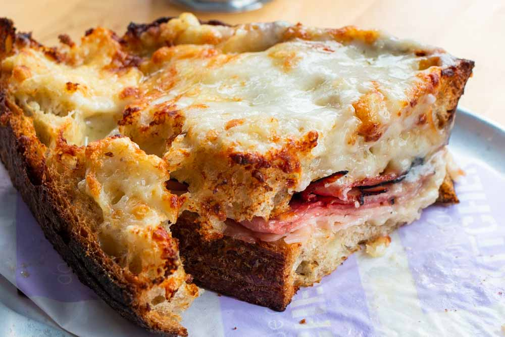 Croque Monsieur in New York