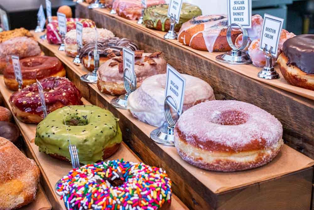 Donuts at Union Square Donuts in Boston