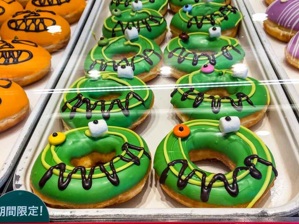 Halloween Donuts at Krispy Kreme in Osaka
