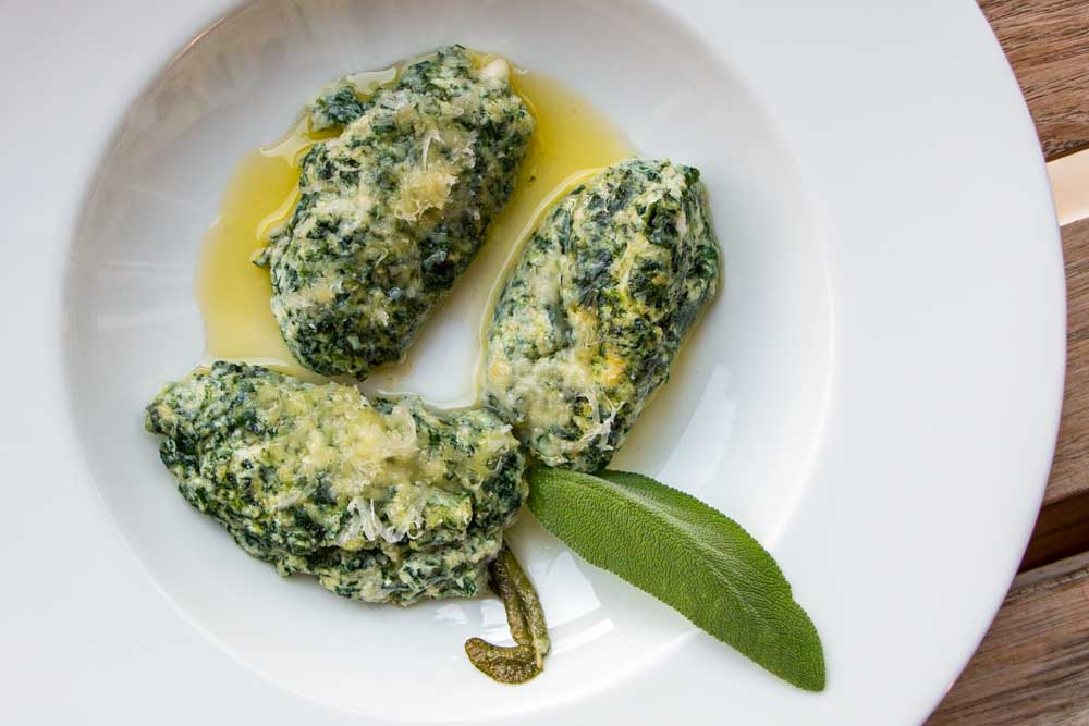 Homemade Spinach _ Ricotta Gnudi in Florence