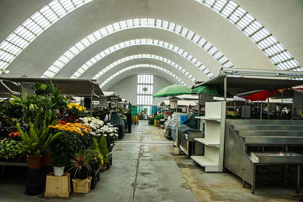 Mercado de Matosinhos near Porto