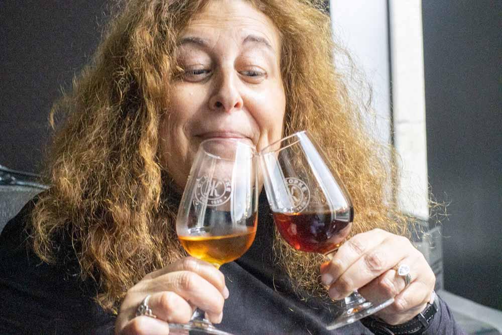 Mindi at Kopke Wine House in Porto
