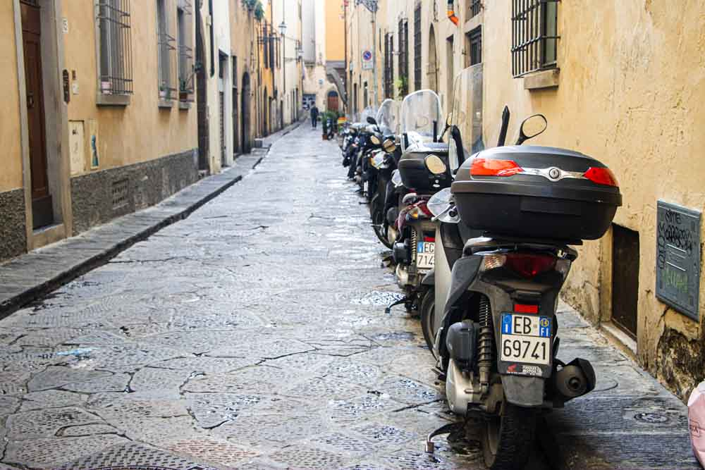 Motor Bikes in Florence