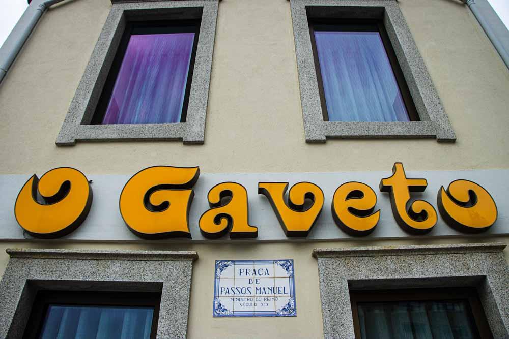 O Gaveto in Porto
