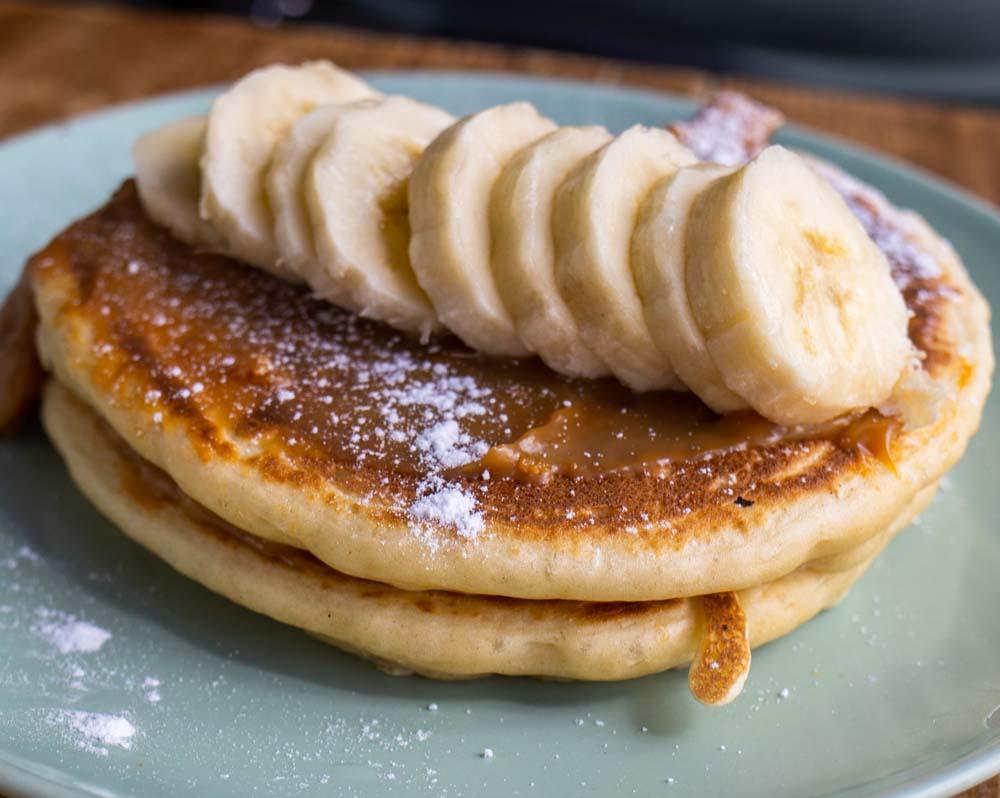 Pancakes at O Diplomata in Porto