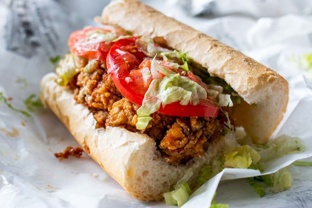 Po Boy at Parkway Tavern in New Orleans